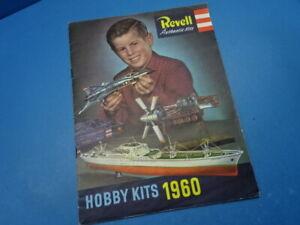 Revell-Authentic (1960): Revell Modellprogramm 1960   ( 32 Seiten )
