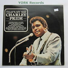 CHARLEY PRIDE - That's My Way - Excellent Condition LP Record Camden CDS 1166
