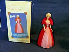 Barbie Ornament Sophisticated Lady Fashion Hallmark 2002 Collector'S Series