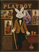 Playboy January 1972 / Playmate Review / A Clockwork Orange / Nude Tarot Cards