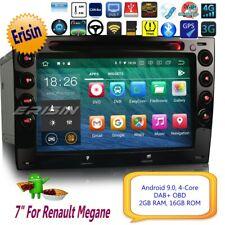"Android 9.0 Renault Megane Autoradio DVD DAB+Bluetooth GPS SatNav TNT DVR 7""4813"