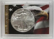 2017 American Eagle Silver Dollar - USA Flag Old Glory Coin 1 oz - Patriotic