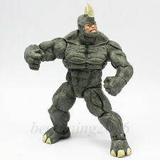 """Marvel Legends The Amazing Spider-Man 9"""" Super Thugs The Rhino Action Figure Toy"""