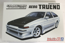 Toyota Trueno A86 Sprinter car boutique Kit 1:24 Aoshima 45