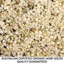 4kg HEMP SEEDS AUSTRALIAN CERTIFIED ORGANIC HULLED BULK FREE&FAST DELIVERY