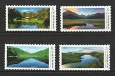 REP. OF CHINA TAIWAN 2018 ALPINE LAKES SERIES III COMP. SET OF 4 STAMPS IN MINT
