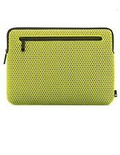 "Incase Compact Sleeve For MacBook Pro 13"" Thunderbolt 3 - Green/Black Mesh - New"