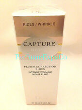 CHRISTIAN DIOR CAPTURE R60/80 NUIT Intense Wrinkle Night Fluid 1.0oz NEW D4