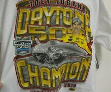 Joey Logano # 22 57th Annual Daytona 500 Win Chase Authentic's T - Shirt - XXL
