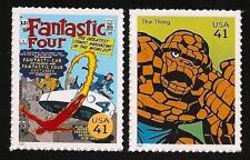 The Fantastic Four #3 Ben Grimm Thing Marvel Superhero US Stamp Collection MINT!