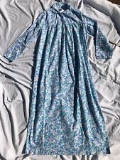 Vintage 1960's 1970's Sears Liberty Floral Print Flannel Nightgown sz Xs Excelle
