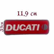 Quality Iron/Sew on Ducati biker patch logo applique TT diavel Panigale patches