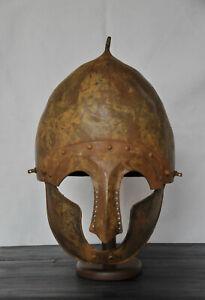 Vikings Helmet   Iron  Helmet  9-13ct AD   Flawless condition 147   MUST BUY
