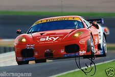 "Le MANS driver Rob BELL HAND SIGNED PHOTO 12x8 ""AB"