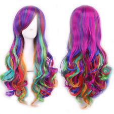 Perruques et toupets multicolore pour femme