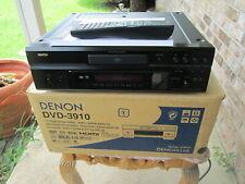 DENON DVD-3910 Universal DVD-V DVD-A SACD HDCD MP3 WMA Player W/ Remote