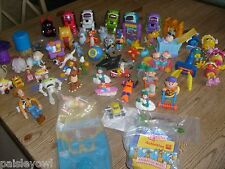Fast Food Lot of over 50 Toys  McDonalds Simpsons Sega Robot Rugrats Fry Guys