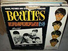 BEATLES songs pictures & stories of fabulous ( rock ) - mono - vee jay brackets