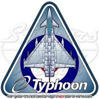 Eurofighter EF2000 TYPHOON RAF British Royal AirForce UK Vinyl Sticker, Decal
