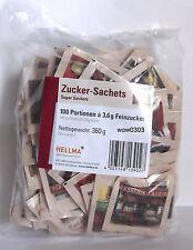 Zucker Sachets 100 Portionen a 3,6g Feinzucker Zucker Zuckerportionen