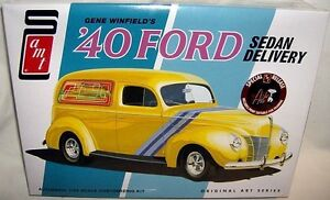 amt 1/25 1940 FORD SEDAN DELIVERY S/R GENE WINFIELD 2n1
