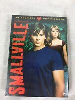 Smallville - The Complete Fourth Season (DVD, 2005, 6-Disc Set)