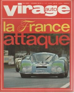 VIRAGE AUTO 1968 11 24H MANS BRUCE McLAREN HONDA S800 N360 N600 GP USA CANADA