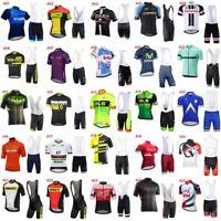 Hot 2019 New cycling jersey bib shorts set men Bicycle Clothing bike uniform D10