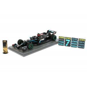 Spark S6488 1/43 Lewis Hamilton Mercedes Winner Turkish F1 2020 7 World Champion