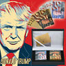 WR 24K Gold Silver Playing Cards 2 Deck Set Donald Trump Poker US President Gift