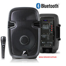 """Portable PA System Active Speaker Battery Powered Bluetooth & Microphone 8"""""""