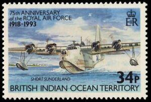 "BR INDIAN OCEAN 138 - Royal Air Force ""Short Sunderland"" (pb34617)"