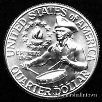 1776 1976 D  Washington Brilliant Uncirculated Quarter Choice from Bank Roll