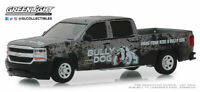 "GREENLIGHT 1/64 2018 CHEVROLET SILVERADO PICKUP TRUCK ""BULLY DOG""  DIECAST 30084"