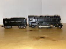MARX  999 2-4-2 locomotive with tender  new york central vintage 0 gauge