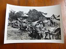 Lot02 - WW2 Original Photo Ox & Cart ASIA Farmers ?