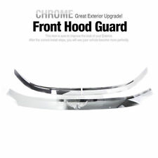 Blck Hood Bug Shield Wind Deflector Gift Chrome Emblem B521 for HONDA 12-16 CR-V