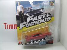 FAST & FURIOUS 6 DODGE CHARGER DAYTONA 1969 MATTEL MINT IN BOX