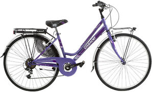 Bici donna Acciaio Moving 26''  6V Cicli Casadei