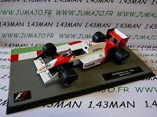 1/43 IXO Panini Formule 1 F1 : McLaren MP 4/4 1988 Ayrton SENNA