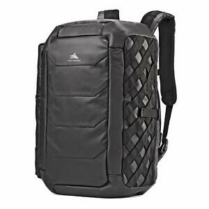 Luxe MASCULINE Duffle Bag Convertible Backpack Rugged Military Carry On Luggage