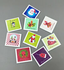 DIY 20X Christmas Holiday stamp Wooden Buttons Sewing Scrapbooking crafts 33mm