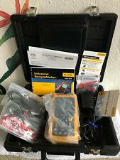 Fluke 123 Industrial Scope Meter Full Custom Case Kit Brand New Unused