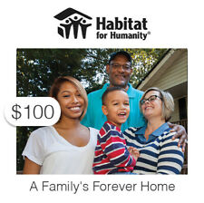 $100 Charitable Donation For: A Family's Forever Home
