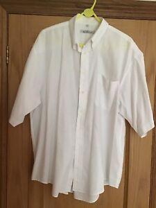 Vintage, Ben Sherman, White, Oxford Button Down, Shirt, 17/43, No Marks, Clean.