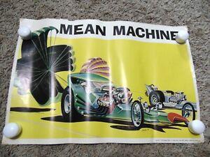 """1969 Monogram Tom Daniel Poster """"Mean Machine"""" T'Rantula Poster"""