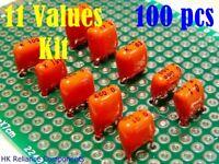 25 pcs 0.47uF 63V Metallized Polyester PE Film Capacitors Pilkor