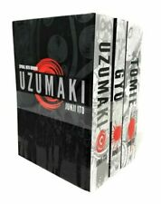 Junji Ito Collection 3 Books Set Pack Tomie Uzumaki Gyo, No Use Escaping