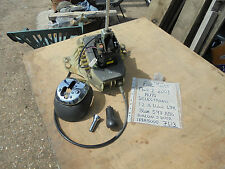 FIAT PUNTO AUTOMATIC GEAR CHANGE LINKAGE SHAFT CABLES ASSEMBLY COMPLETE FROM 03