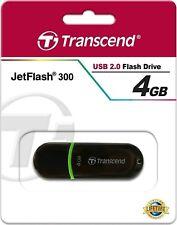 Chiavetta PenDrive Transcend JetFlash 300 USB 2.0 - 4GB
